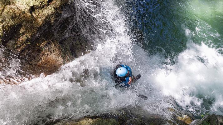 Canyoning-Laruns-Canyon of Bious-Gabas, Atlantic Pyrenees-3