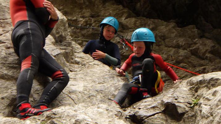 Canyoning-Pyrénées Orientales-Canyoning in the Gorges de Galamus, St Paul de Fenouillet-2