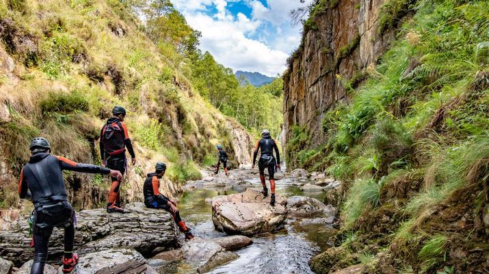 Canyoning-Ariege-Canyon de l'Artigue en Ariège-4