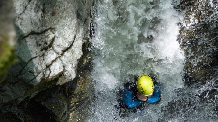 Canyoning-Laruns-Canyon of Bious-Gabas, Atlantic Pyrenees-6