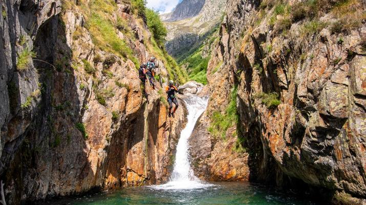 Canyoning-Ariege-Canyon de l'Artigue en Ariège-3
