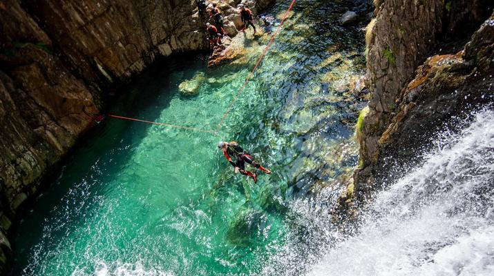 Canyoning-Ariege-Canyon de l'Artigue en Ariège-1