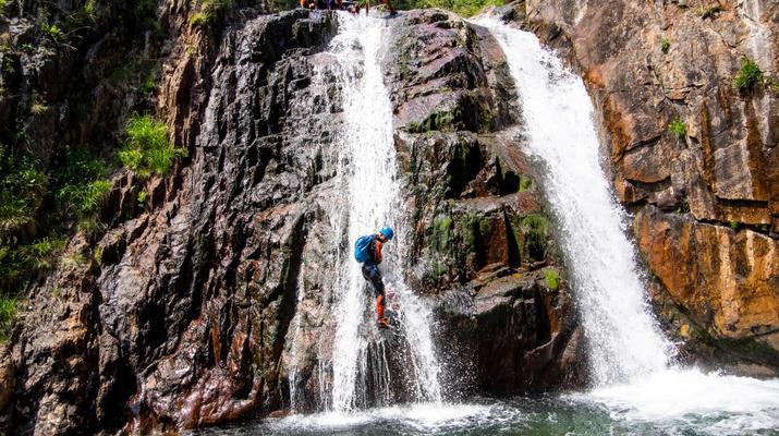 Canyoning-Ariege-Canyon de l'Artigue en Ariège-2