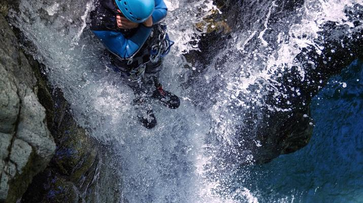 Canyoning-Laruns-Canyon of Bious-Gabas, Atlantic Pyrenees-5