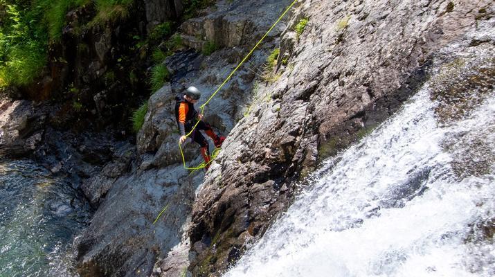 Canyoning-Ariege-Canyon de l'Artigue en Ariège-6