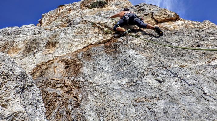 Rock climbing-Gortyn-Rock Climbing Session near Lentas in Southern Crete-4