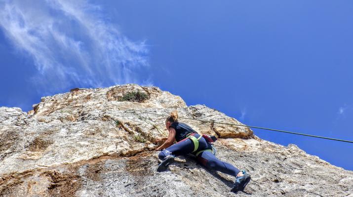 Rock climbing-Gortyn-Rock Climbing Session near Lentas in Southern Crete-2