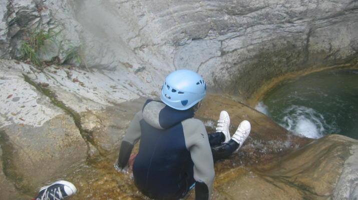 Canyoning-Monaco-Canyon du Ruisseau d'Audin à proximité de Monaco-3