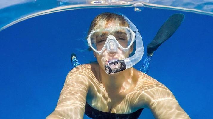 Snorkeling-Amadores, Gran Canaria-Snorkeling excursion in Amadores Beach near Puerto Rico, Gran Canaria-1